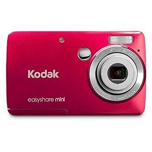 Kodak M200 Easyshare Mini Digital Camera-Red