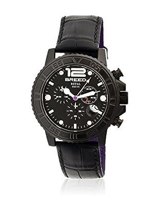 Breed Reloj con movimiento cuarzo suizo Brd6704 Negro 44  mm