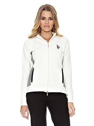 US Polo Assn Sudadera English Flag (Blanco)