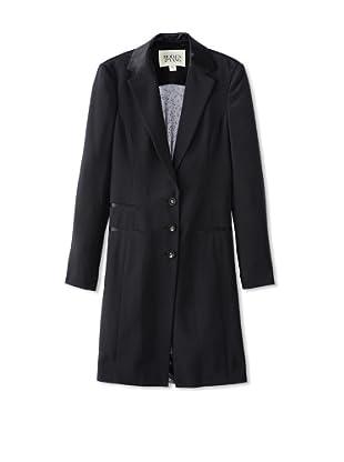 Holmes and Yang Women's Mesh Back Coat (Black)