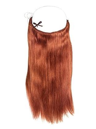 Halo 16 inch Dark Auburn Hair Extensions