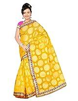 Chirag Sarees Designer Partywear Bridal Marriage Collection FLORIDA.397.Gola yellow