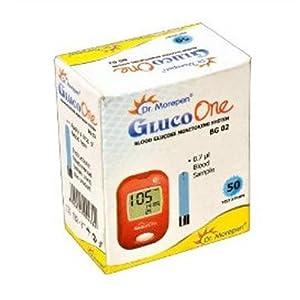 Dr. Morepen BG-02 Gluco One 50 Test Strips
