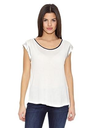 Springfield Camiseta T Foil Mangas (Blanco)