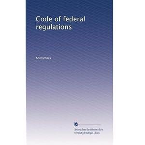 【クリックでお店のこの商品のページへ】Code of federal regulations (Vol.322) [ペーパーバック]