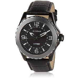 Titan HTSE Analog Men's Watch-Black
