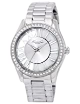 Kenneth Cole Analog Silver Dial Women's Watch - IKC4851