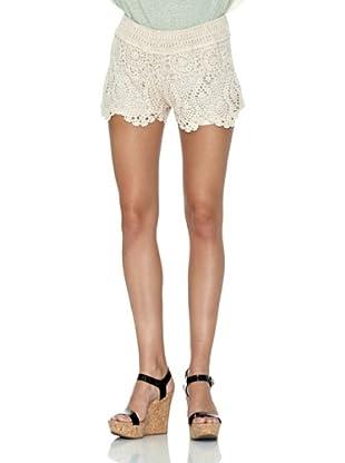 SUCHN Short Croche (Beige Claro)