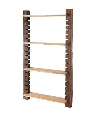 The HomePort Collection Unysn Elm Wall Shelf, Tall