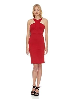Fornarina Vestido Werne-Red Stretch Rayon D (Rojo)