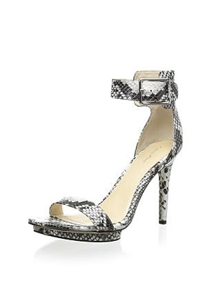 Calvin Klein Women's Vivian Ankle Strap Sandal (Smoke)