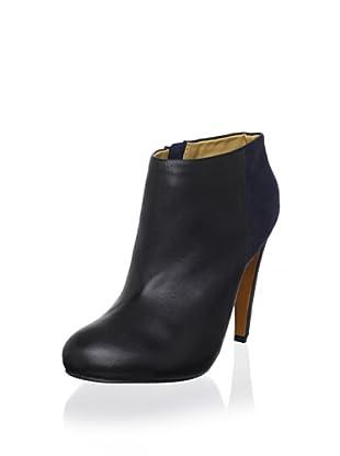 Mark + James Women's Theresa Ankle Boot (Black/Navy)