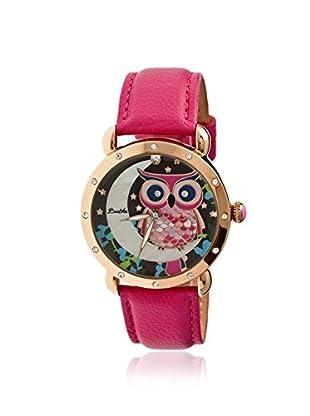 Bertha Women's BR3006 Ashley Pink/Multi Leather Watch