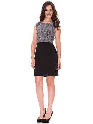 Cortefiel Kleid (Schwarz)