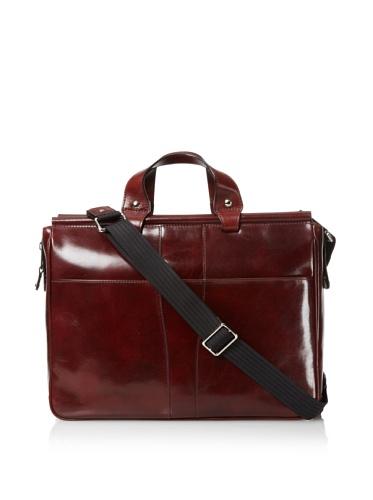 Bosca Men's Dowel Bag (Dark Brown)
