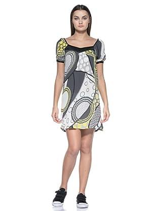 Vestido Giordana (Negro / Amarillo)