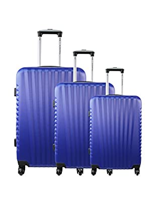 Zifel Set de 3 trolleys rígidos Santiago