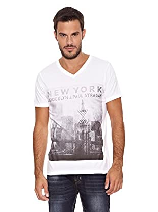 Paul Stragas Camiseta Hans (Blanco)