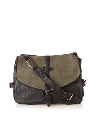 Foley + Corinna Women's Petra Cross-Body Messenger Bag (Moss Combo)