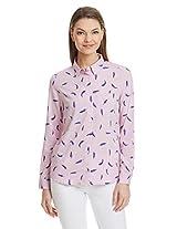 United Colors Of Benetton Women's Button Down Shirt