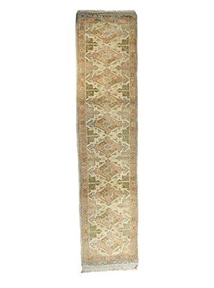 Bashian Rugs Hand-Knotted Turkish Oushak Rug, Beige, 3' x 12' 4