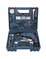 Bosch GSB 500 RE 500-Watt Tool Set (Blue)