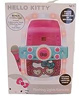 Hello Kitty Flashing Lights Cd Karaoke System , Pink/Leopard