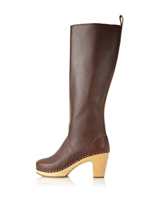 Swedish Hasbeens Women's Knee-High Jodhpur (Chocolate)