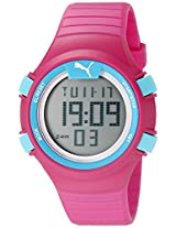 PUMA Unisex PU911261003 Faas 100 S pink Digital Display Watch