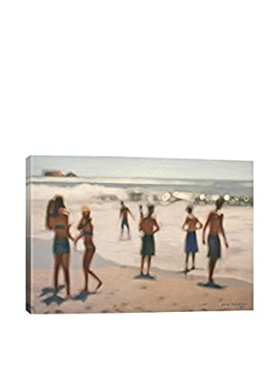 Philip Barlow Gallery When Boys and Girls Wrapped Canvas Print
