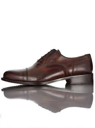 British Passport Zapatos Oxford Piel (Marrón oscuro)