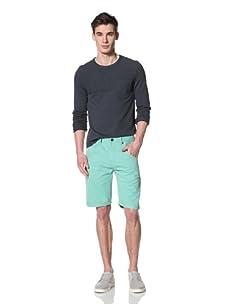 Marshall Artist Men's Cut-Down Cotton Twill Jeans (Mint Green)
