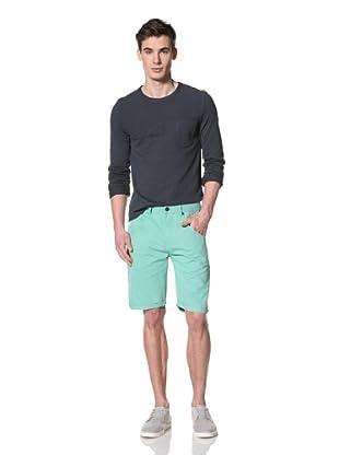 Marshall Artist Men's Cut-Down Cotton Twill Shorts (Mint Green)