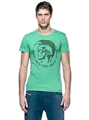 Diesel Camiseta T-Achel-Rs (Verde)