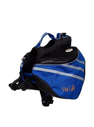 Pet Life Dupont Everest Backpack (Blue/Grey)