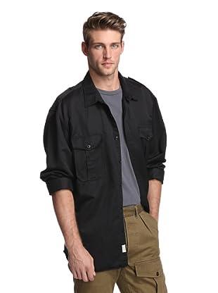 Todd Snyder Men's Military Shirt (Black)
