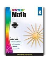 Carson Dellosa CD-704560 Spectrum Math Gr K