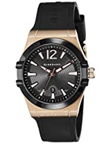 Giordano Analog Black Dial Men's Watch - 1749-05