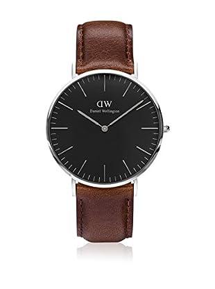 Daniel Wellington Reloj con movimiento cuarzo japonés Woman Classic Bristol brown 36 mm
