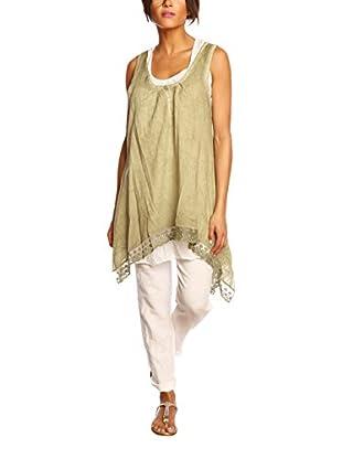 100% Linen Bluse Soja