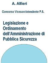 Concorso vicesovrintendenti polizia di stato - legislazione e ordinamento dell'amministrazione di pubblica sicurezza