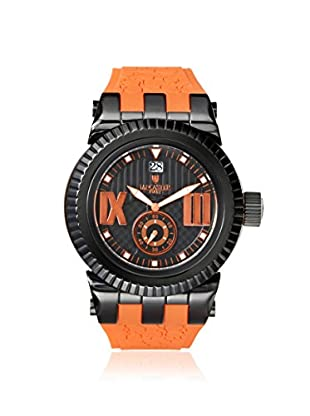 Lancaster Men's OLA0629BK/OR Murano Orange/Black Stainless Steel Watch