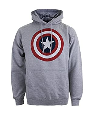 Marvel Kapuzensweatshirt Cpt. America Shield