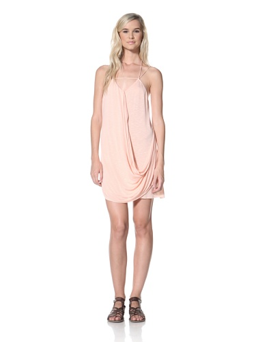 TBags Los Angeles Women's Tunic Tank (Blush Pink)