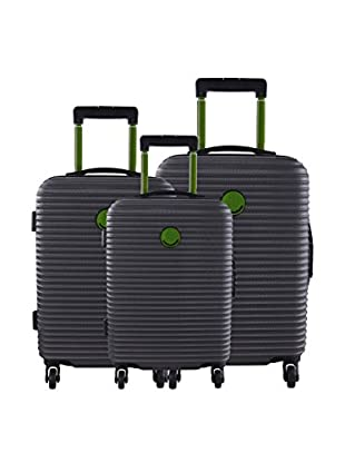 LULU CASTAGNETTE Set de 3 trolleys rígidos Cdn