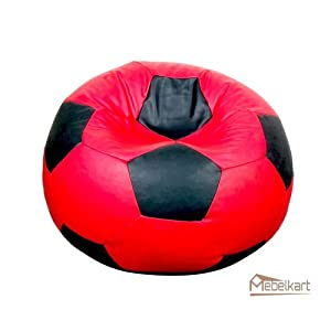 Mebelkart Football Bean Bag XL ( Extra Large ) Cover