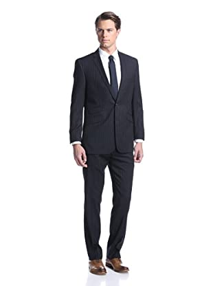 Ben Sherman Men's Pinstripe Suit (Navy)