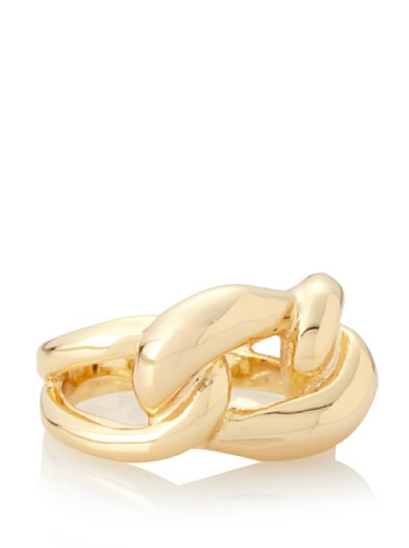 Jules Smith Katy Gold Chain Ring