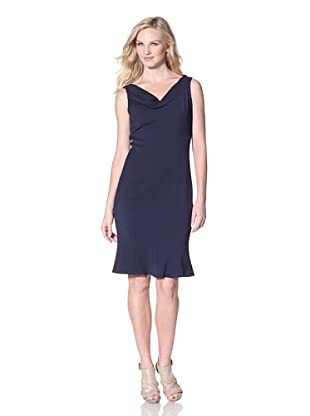 T Tahari Women's Lisbeth Dress (Navy Sapphire)