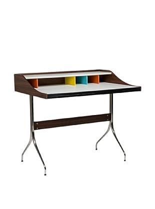 Aeon Furniture Walnut Desk, Multi